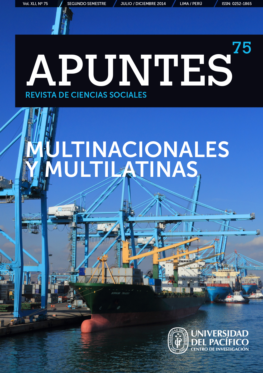 Revista Apuntes 75 - Multinacionales y multilatinas