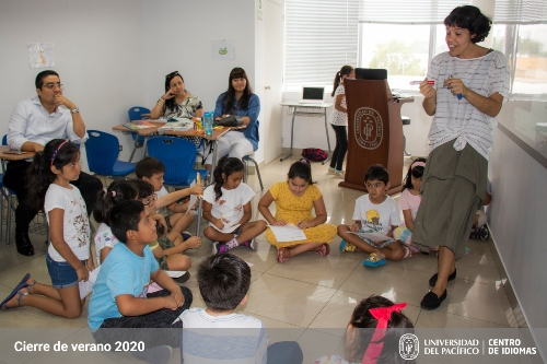 Cierre de verano - Programas English for Tots y English for Juniors