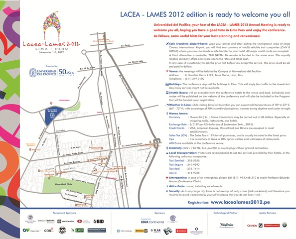 Lames Lames 2012 edition is ready to welcome you all