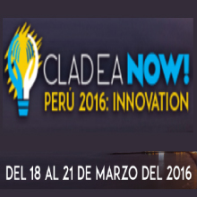 CLADEA NOW! Perú 2016: Innovation